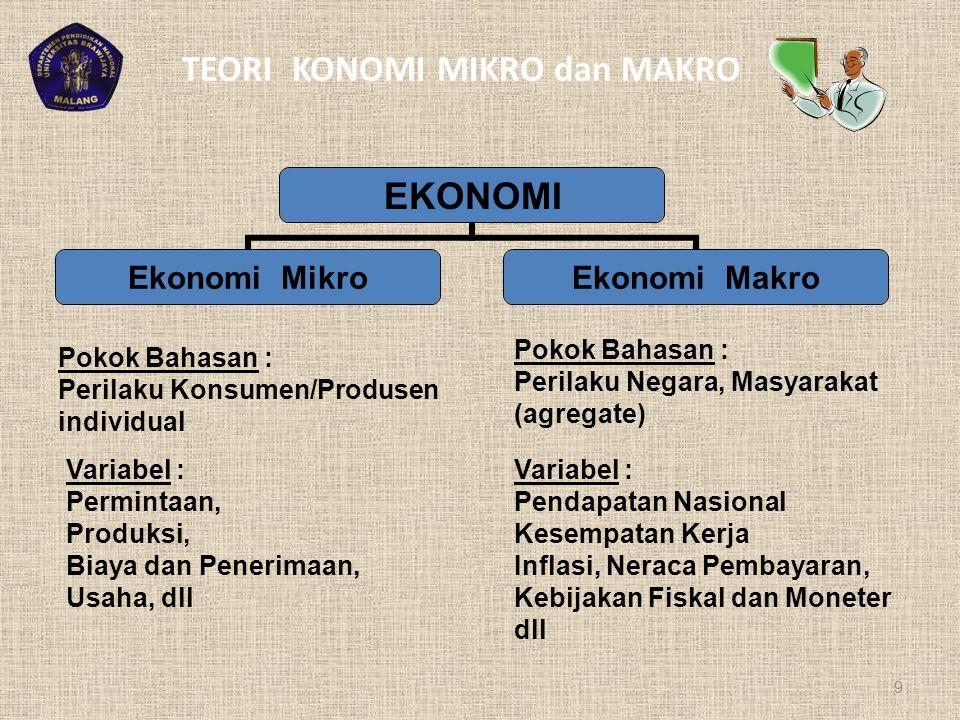 3) Mekanisme harga di pasar input (For Whom) : Proses Produksi Dengan mendasarkan pola income masyarakat (yg. Ditentukan oleh mekanisme harga di pasar