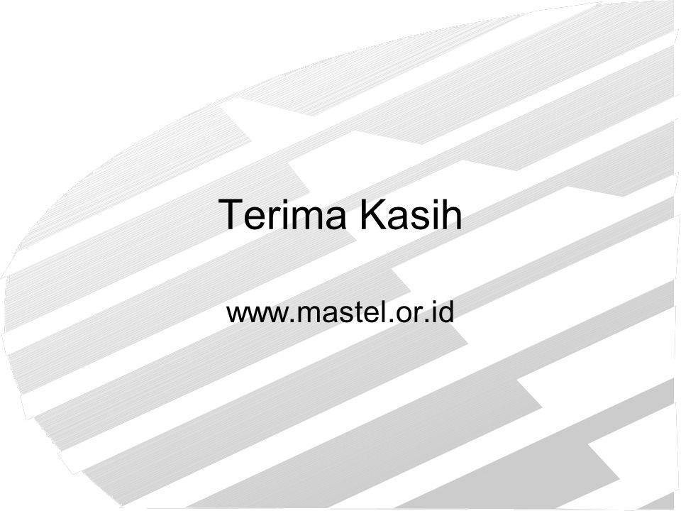 Terima Kasih www.mastel.or.id