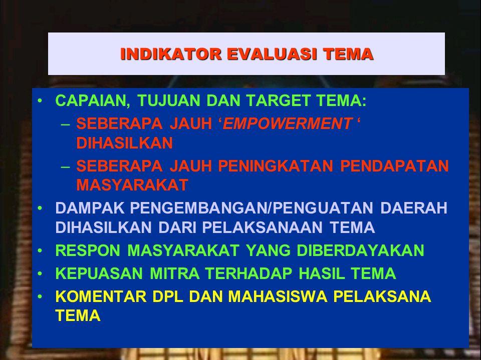 7   Rembuk Nasional Depdiknas   20.April 2015 Ditjen DIKTI KRITERIA PENILAIAN 1.