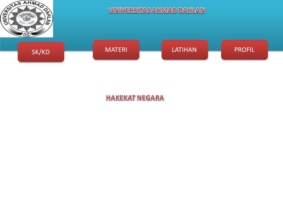 SK/KD MATERI LATIHAN PROFIL