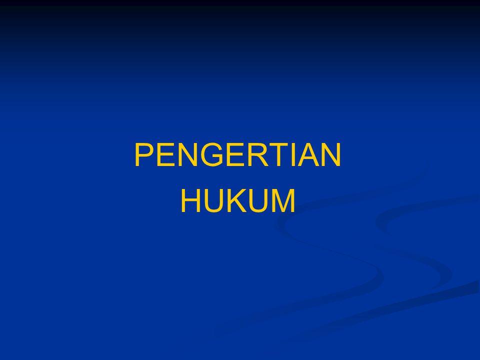 SUMBER HUKUM UNDANG-UNDANG KEBIASAAN TRAKTAT YURISPRUDENSI DOKTRIN PENEMUAN HUKUM SUMBER HUKUM CIVIL LAW / EROPA KONTINENTAL Peraturan (regel) Penetapan atau Ketetapan (beschikking)