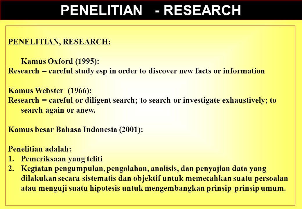 1.Masalah penelitian hendaknya dapat mencerminkan kebutuhan yang dirasakan 2.Masalah penelitian merupakan kenyataan yang betul- betul ada yang merupakan hasil dari proses identifikasi masalah 3.Masalah penelitian relevan, dalam arti merupakan permasalahan yang betul-betul baru dan dapat dilaksanakan dengan baik dan benar.