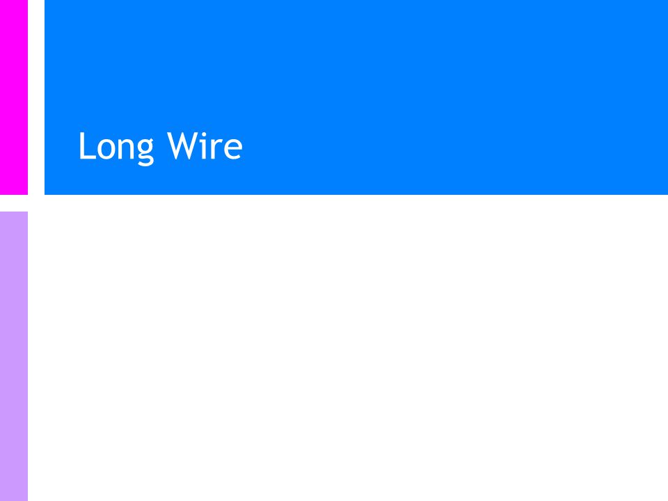 Examples Long-straight wire Insider a long straight wire Toroidal coil Solenoid