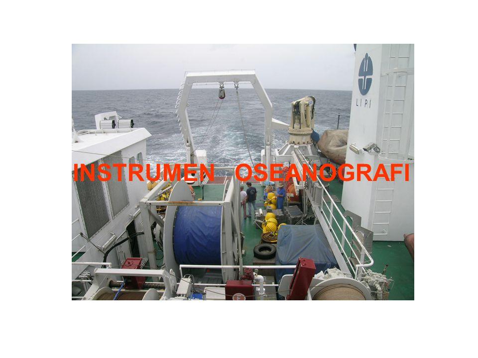INSTRUMEN OSEANOGRAFI: 1.Winch 2.CTD 3.Tide Gauge 4.Buoy 5.Mooring 6.Current Meter dan ADCP