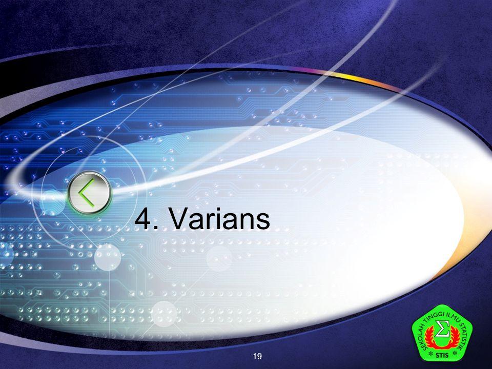 LOGO 4. Varians 19