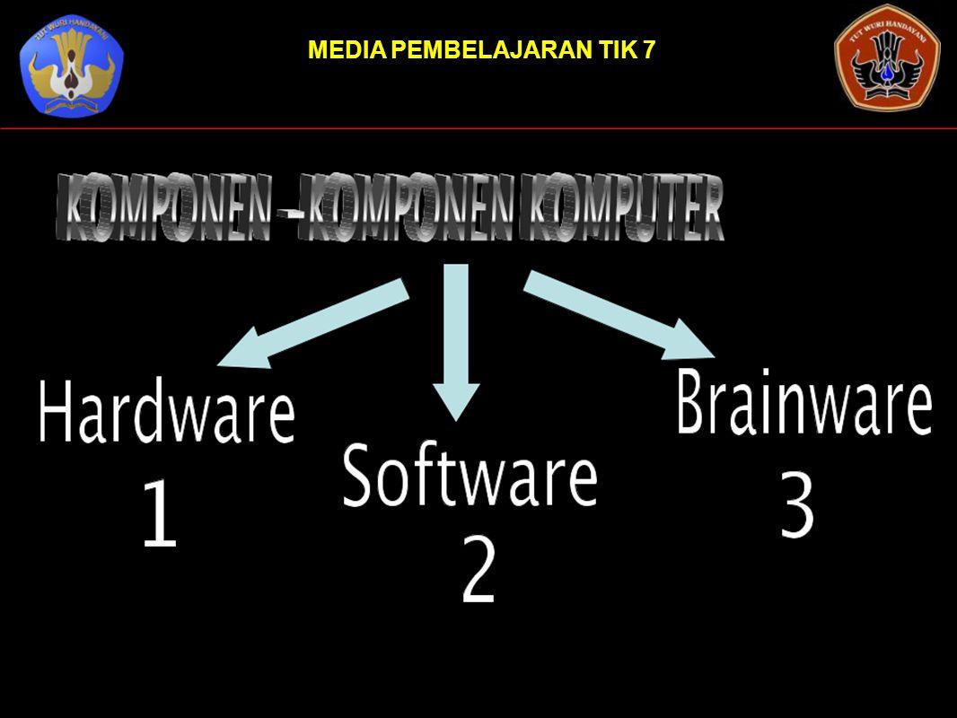 Hardware atau perangkat keras dalam sistem komputer merupakan komponen yang secara fisik dapat dilihat dan diraba yang membentuk suatu kesatuan sehingga dapat difungsikan