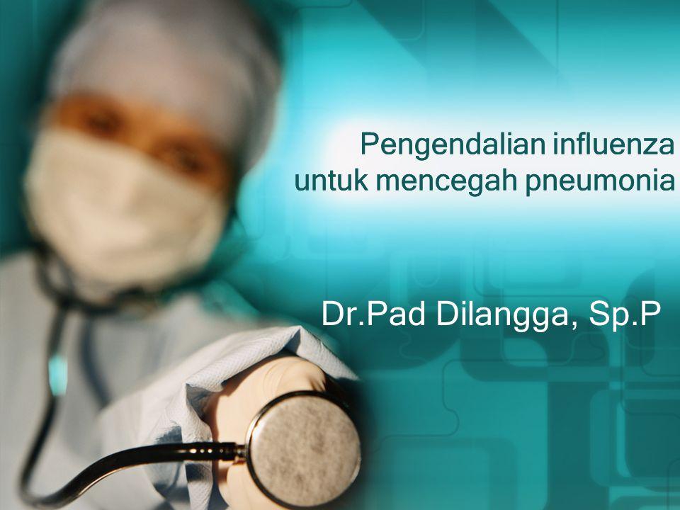Pengendalian influenza untuk mencegah pneumonia Dr.Pad Dilangga, Sp.P
