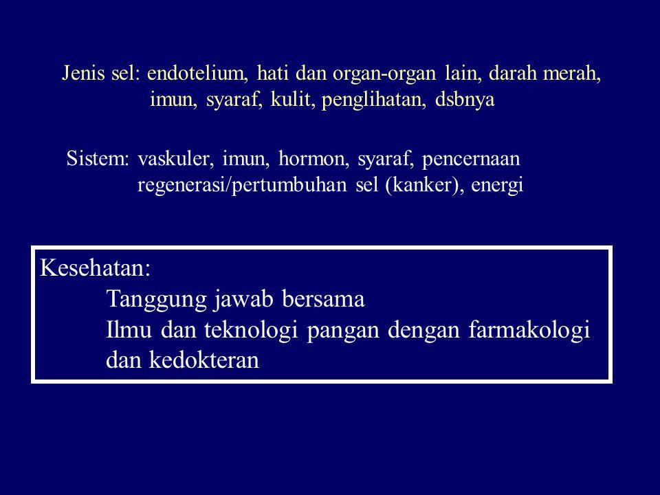 Paradigma sehat SEHAT SAKIT MENJADI SEMBUH = TIDAK SAKIT TETAP TIDAK OBAT MAKANAN (FUNGSIONAL)