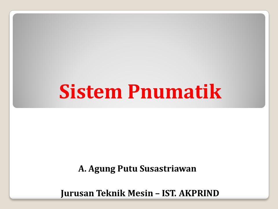 Komponen Sistem Pnumatik