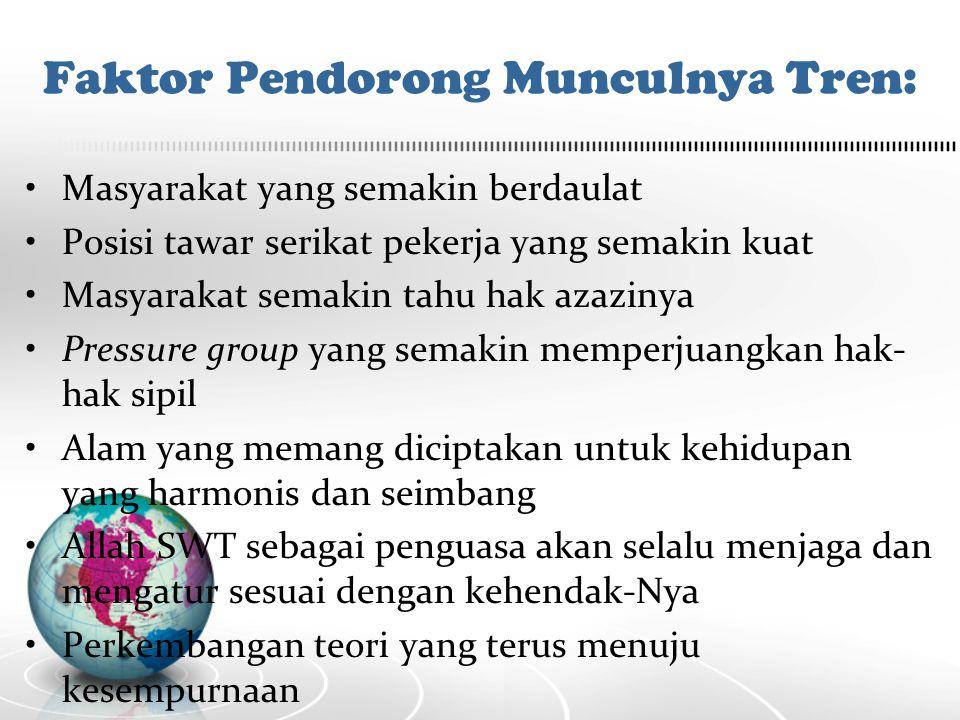 Perkembangan Tren Akuntansi yang Sejajar dengan Nilai-nilai Islam: Employee Reporting Pegawai selaku stakeholders berhak memperoleh informasi keuangan perusahaan.