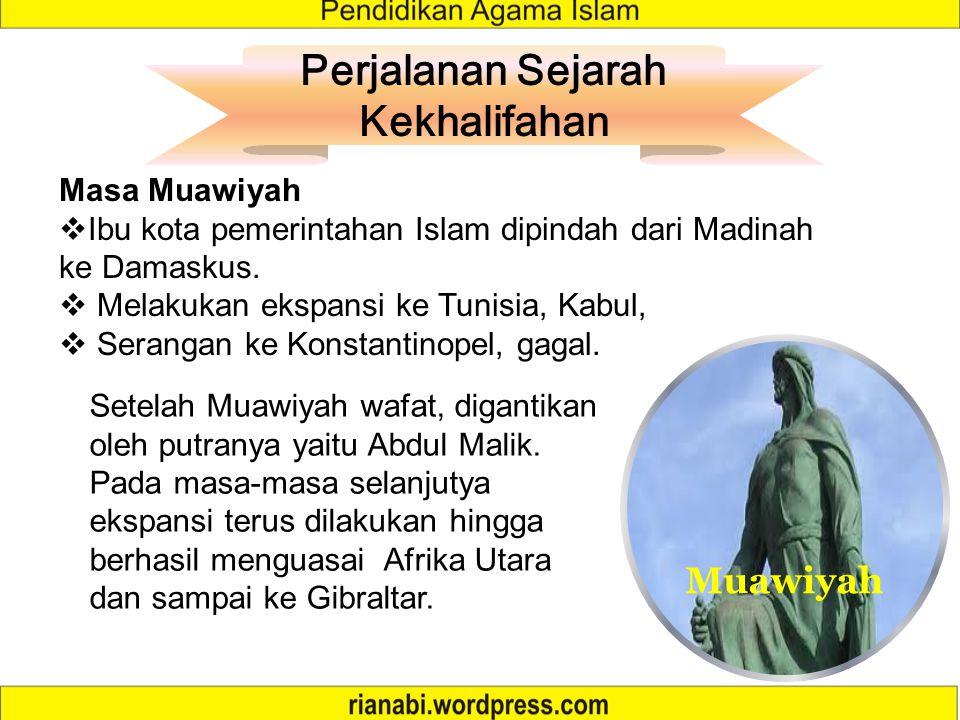 Perjanjian Madain 1.Agar Muawiyah tidak menaruh dendam terhadap penduduk Irak 2.Agar pajak tanah negeri Ahwaz diberikan kepada Hasan setiap tahun 3.Mu