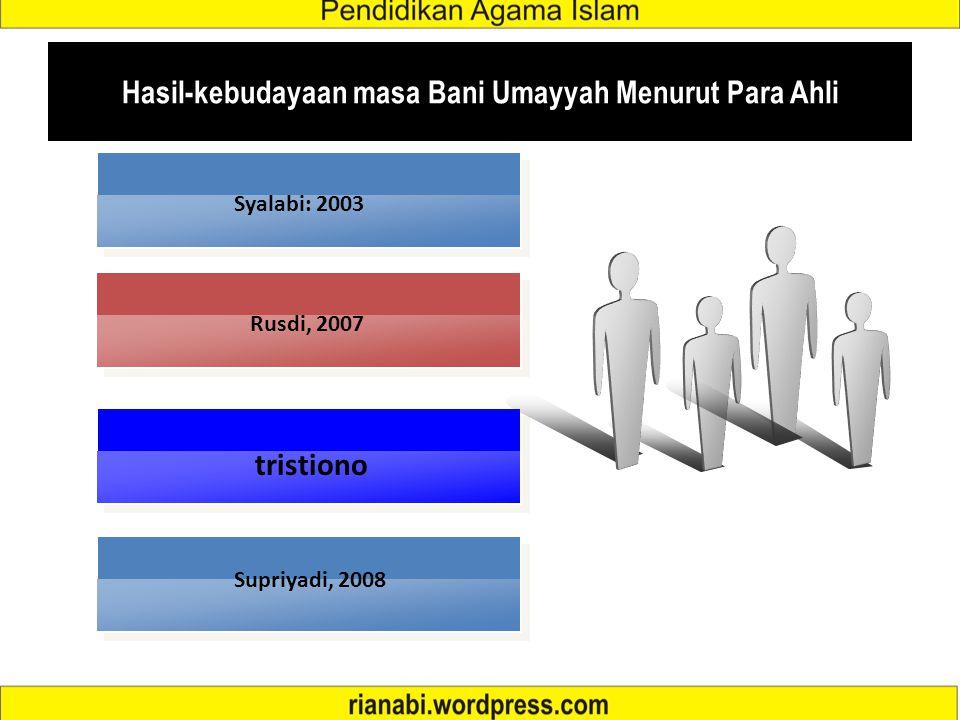 Keruntuhan Dinasti Bani Umaiyah Terjadinya persaingan kekuasaan di dalam anggota keluarga Bani Umayyah. Tidak ada pemimpin politik dan militer yang ha