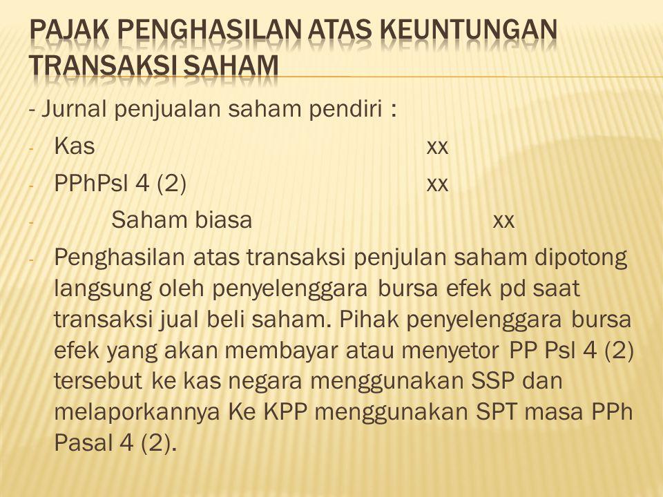  Pada tanggal 22 Desember 2011 PT.Cikmat menjual saham PT.