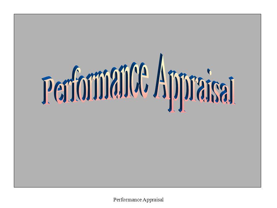 Performance Appraisal 5.Prinsip-prinsip Dasar : a.