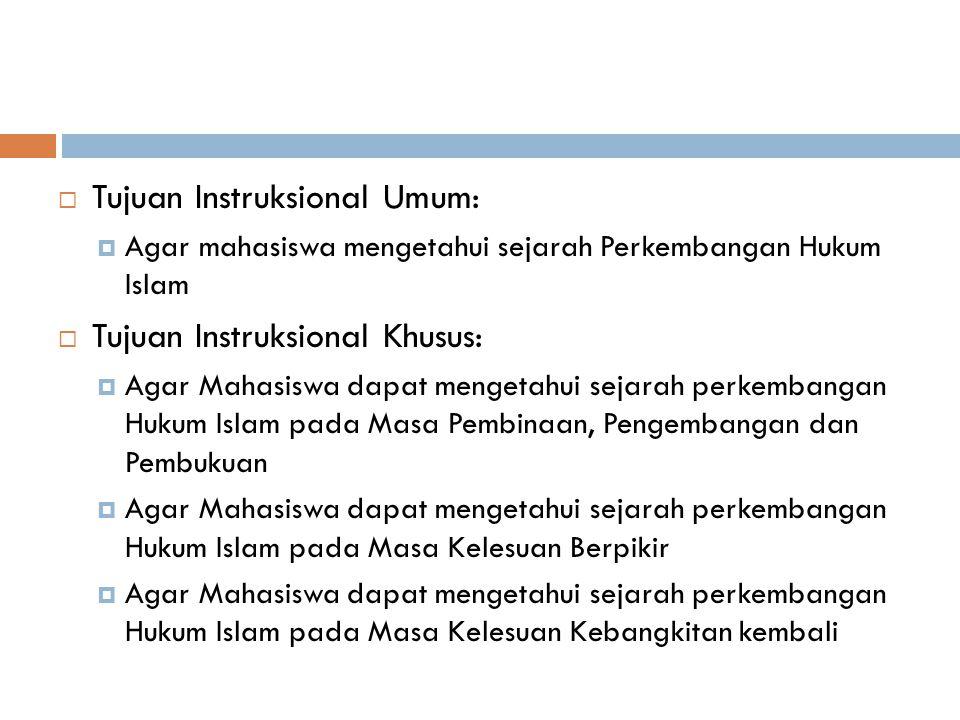 MATERI PERTEMUAN 11 Sejarah Hukum Islam II (Masa Pembinaan, Pengembangan, dan Pembukuan)