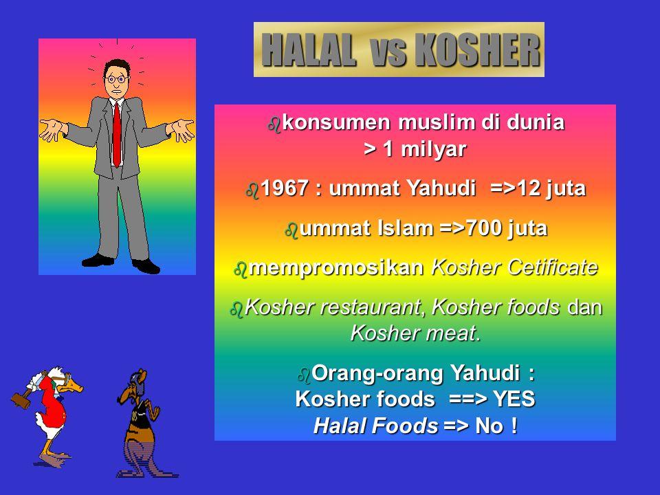 Penyembelihan : Penyembelih harus beragama Islam Penyembelih memahami & menjalankan proses penyembelihan sesuai syariat Islam Bila dengan pemingsanan,
