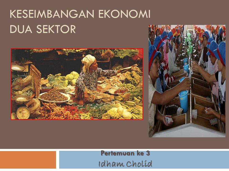 Pokok Bahasan 1) Ciri-ciri Konsumsi dan tabungan rumah tangga 2) Fungsi konsumsi dan tabungan 3) Faktor-faktor yang menentukan konsumsi dan tabungan 4) Investasi dan fungsi investasi 5) Faktor-faktor yang menentukan tingkat investasi 6) Penentuan tingkat kegiatan ekonomi