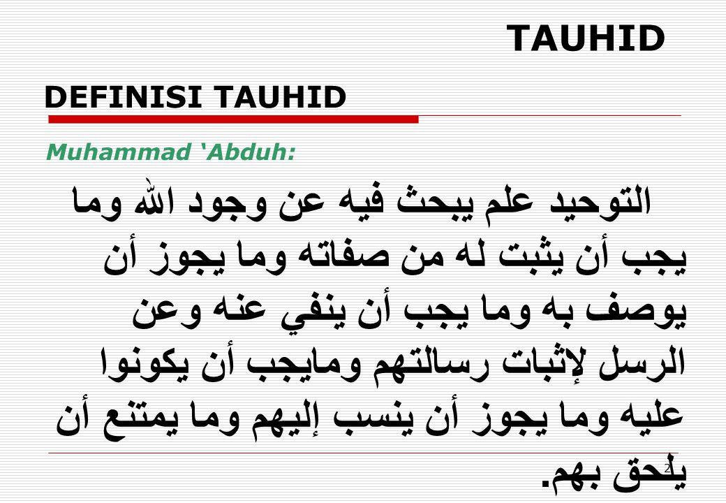 63 JABARIYAH Doktrin Pokok Jabariyah: Manusia tidak mampu berbuat apa-apa [Jahm bin Shafwan].