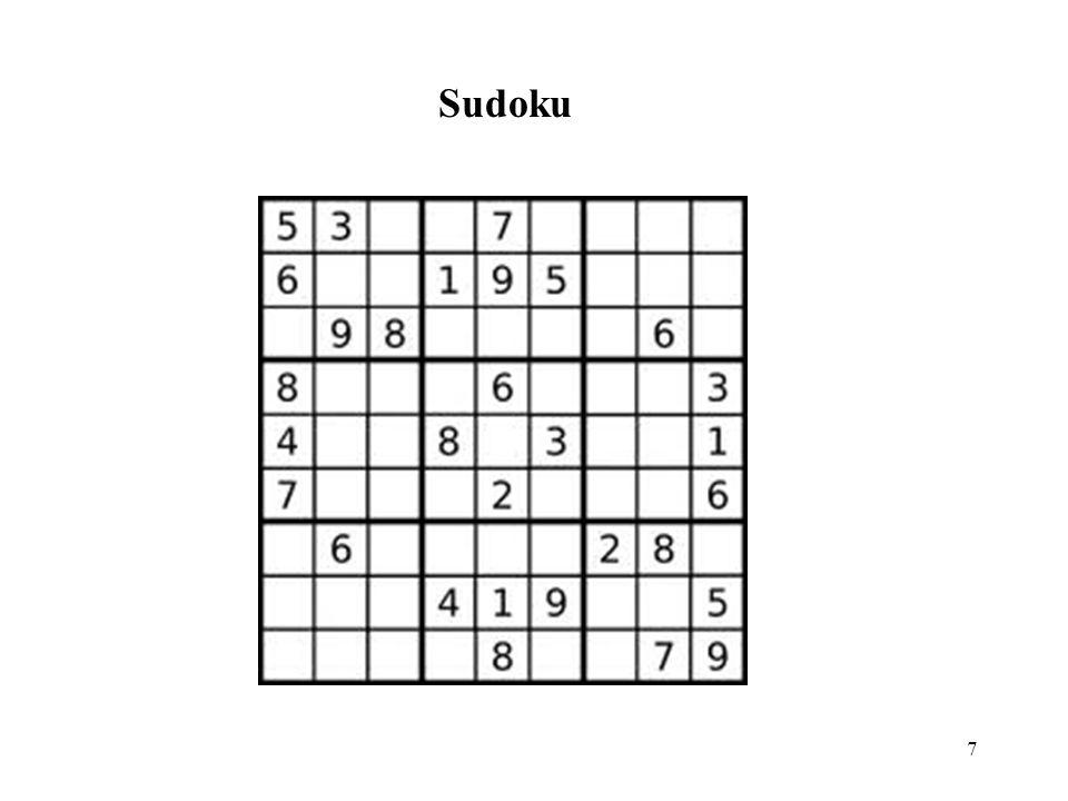 18 Contoh runut-balik pada sebuah labirin. Runut-balik diperlihatkan dengan garis putus-putus.