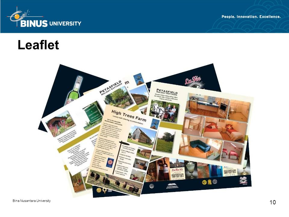 Leaflet Bina Nusantara University 10