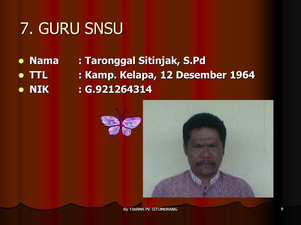 By TIARMA PV SITUMORANG 29 3.BAGIAN KEUANGAN Nama : Tiarma PV.