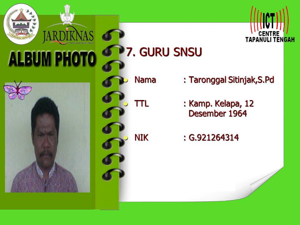 6.GURU FISIKA Nama : Drs. Beatus Halawa Nama : Drs.