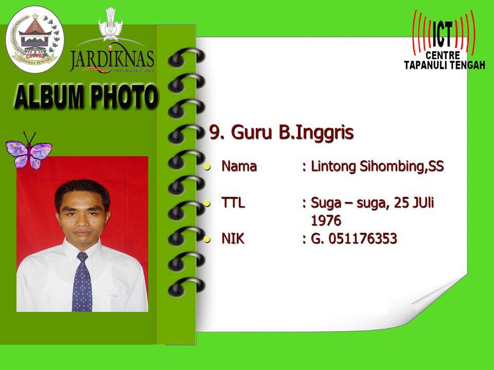 8.Guru Ekonomi Nama: Drs. Lamaju Purba Nama: Drs.