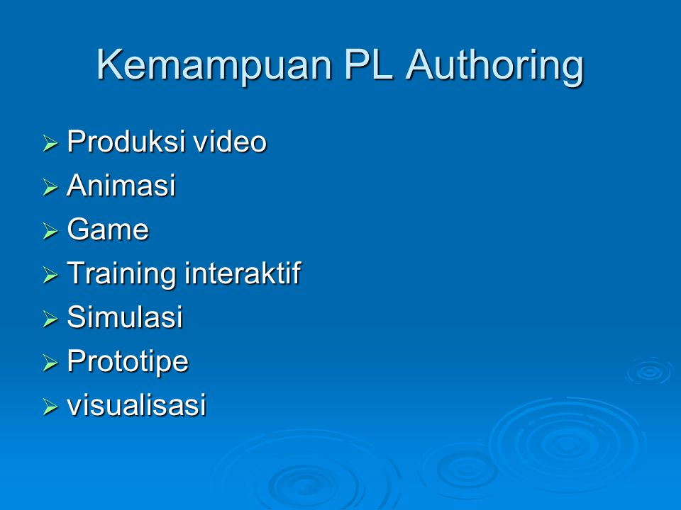 Contoh time-based  Macromedia Flash  Macromedia Director (Mac/Windows)  Action!