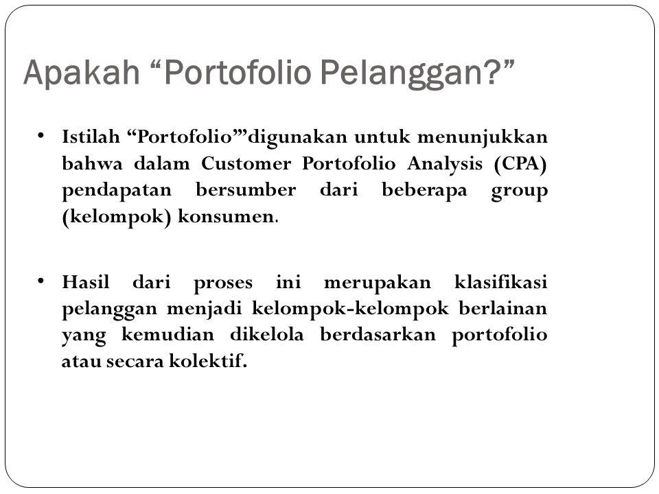 Tujuan CPA Mengoptimalkan kinerja keuntungan di seluruh basis pelanggan dengan menawarkan proposisi nilai yang dibedakan untuk segmen pelanggan yang berbeda- beda.