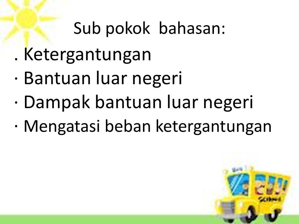 Sub pokok bahasan:.