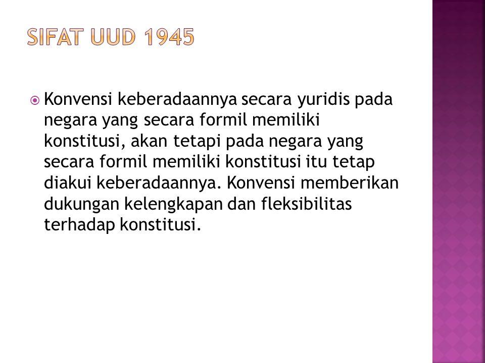 Ciri-ciri Negara Hukum menurut Friedrich Julius Stahl :  1.