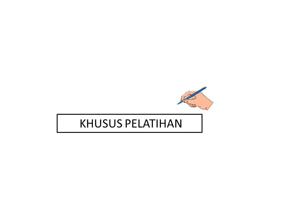 KHUSUS PELATIHAN