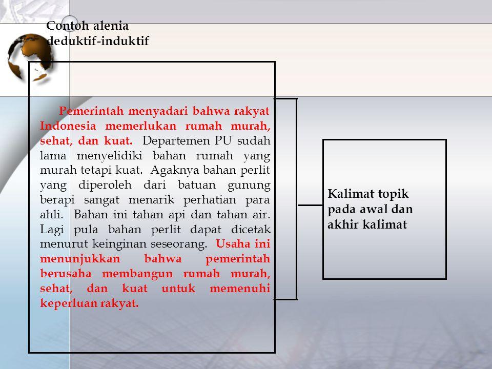 Pemerintah menyadari bahwa rakyat Indonesia memerlukan rumah murah, sehat, dan kuat. Departemen PU sudah lama menyelidiki bahan rumah yang murah tetap
