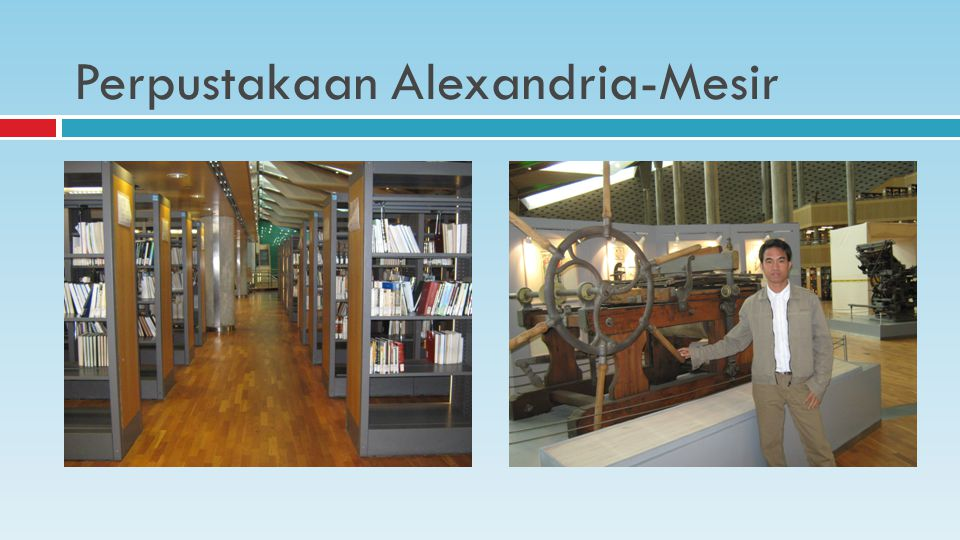 Perpustakaan Alexandria-Mesir