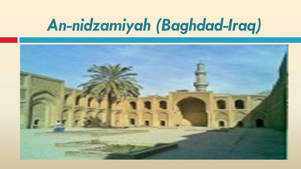An-nidzamiyah (Baghdad-Iraq)