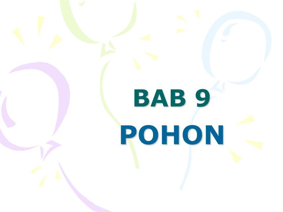 BAB 9 POHON