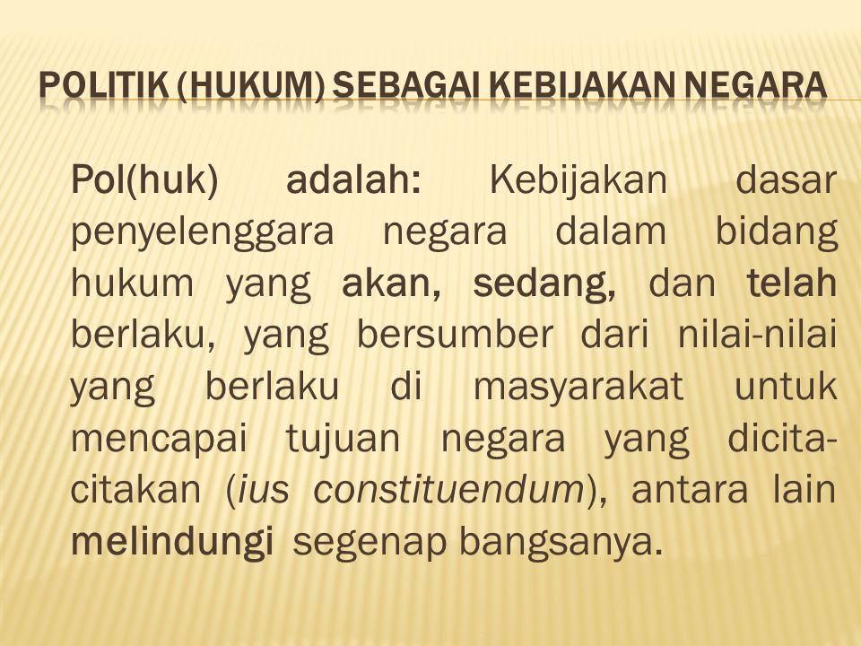 Filosofi Perlindungan Negara Salah satu tujuan Negara (national goal) adalah …melindungi segenap Bangsa Indonesia dan seluruh tumpah darah Indonesia… , konstruksi kalimat filosofis melahirkan pemaknaan bahwa pada N terletak tanggung jawab yang demikian besar terhadap Bangsanya untuk diberikan perlindungan.