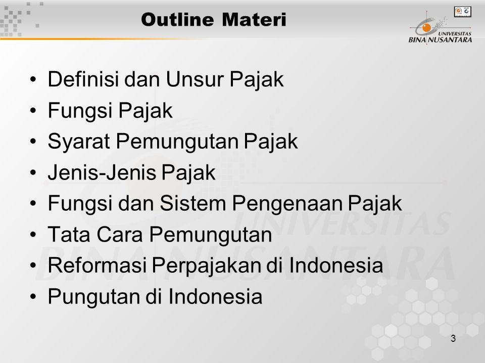 4 PUNGUTAN DI INDONESIA Pajak.