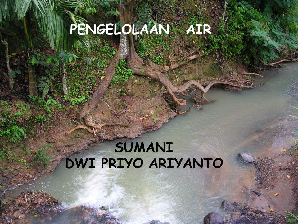 PENGELOLAAN AIR SUMANI DWI PRIYO ARIYANTO