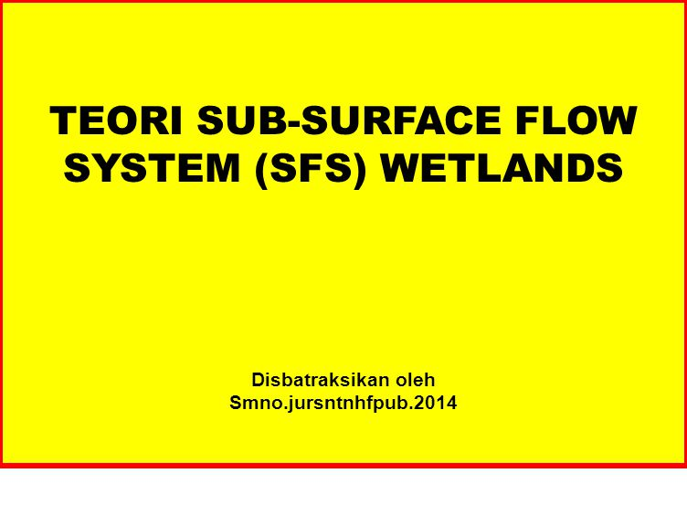 Despite the fact that horizontal subsurface flow constructed wetlands have been in operation for several decades now, there is still no clear understanding of some of their most basic internal functioning patterns.