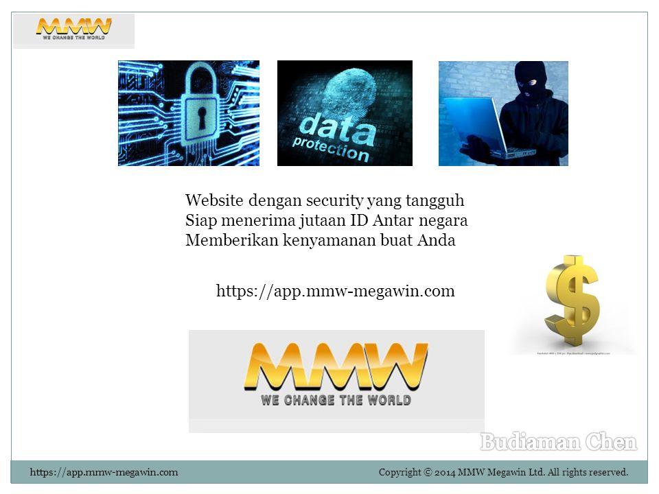 Copyright © 2014 MMW Megawin Ltd.All rights reserved.