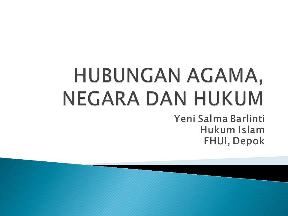 Yeni Salma Barlinti Hukum Islam FHUI, Depok