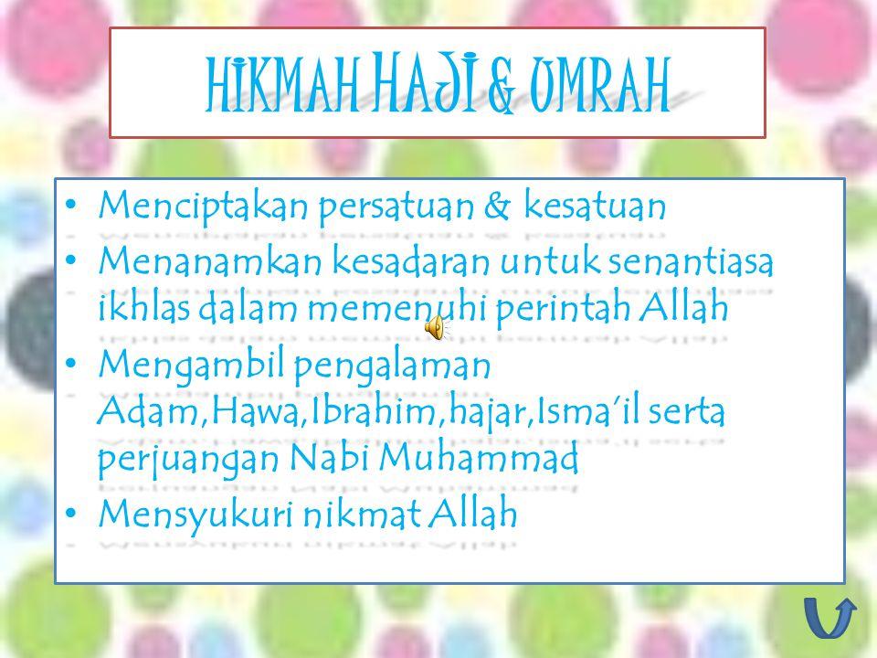 Mengerjakan Haji dulu, kemudian umrah Ifrad Mengarjakan Umrah dulu,kemudian haji Tamattu' Haji dan umrah dikerjakan bersamaan Qiran