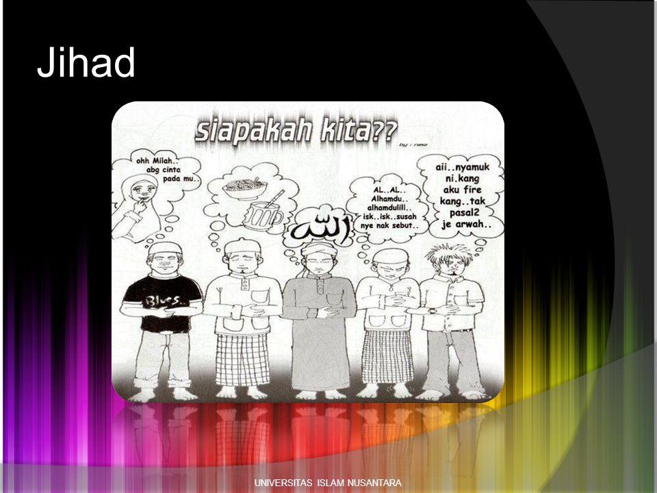 Jihad UNIVERSITAS ISLAM NUSANTARA