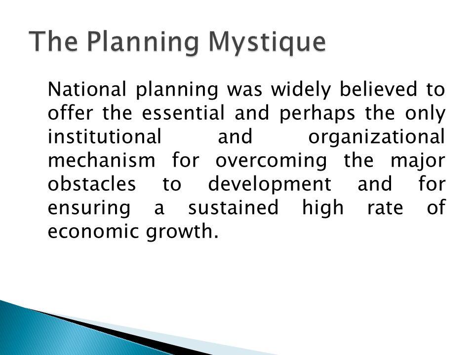  Economic planning  Economic plan  Comprehensive plan  Partial plan  Planning process