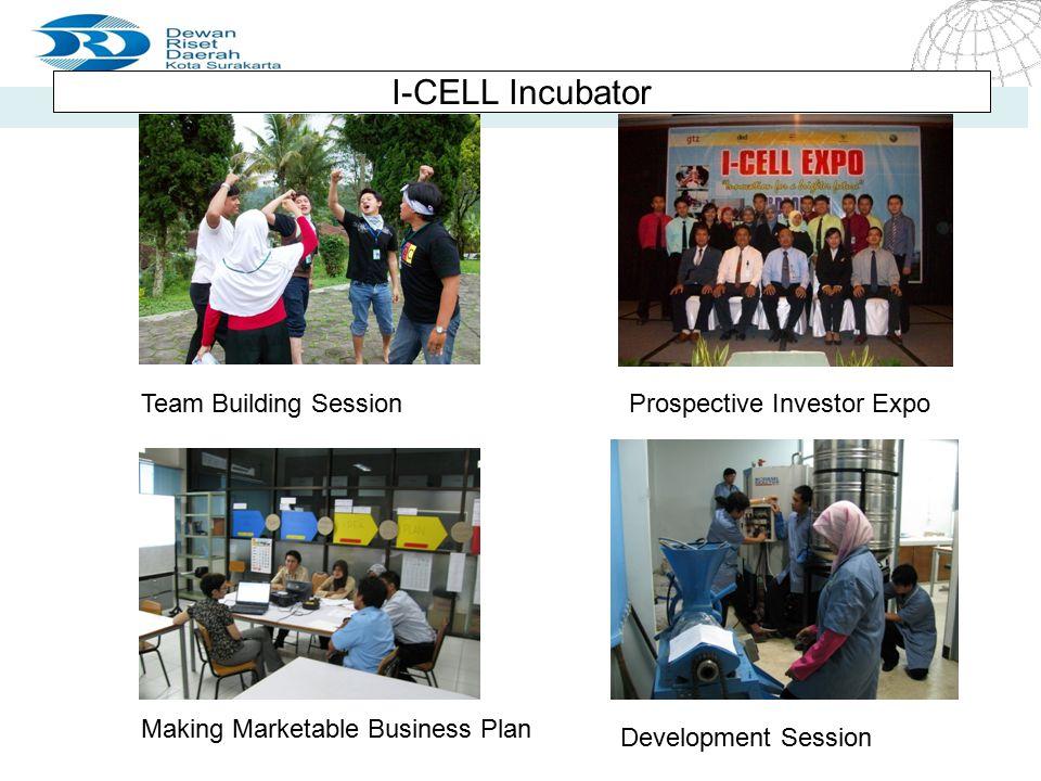 4/20/2015 Seite 12 Seite 12 I-CELL Incubator Team Building SessionProspective Investor Expo Making Marketable Business Plan Development Session