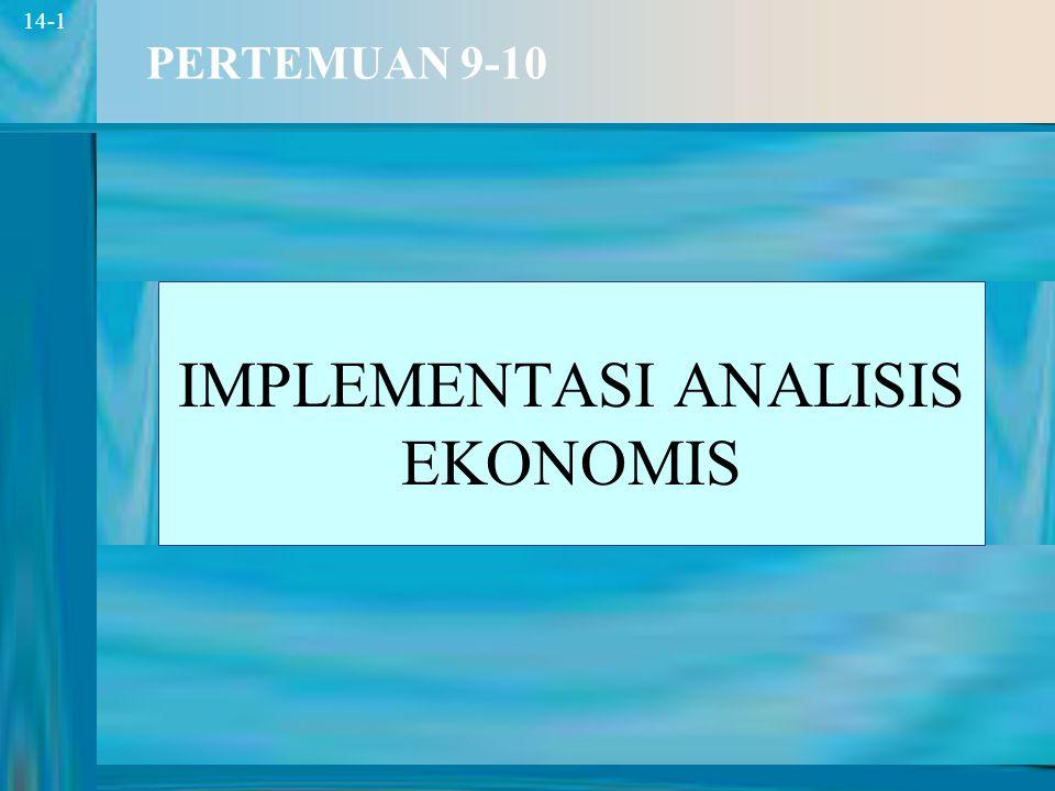 2 14-2 TIK Mahasiswa mampu menghasilkan analisis ekonomi produk baru.