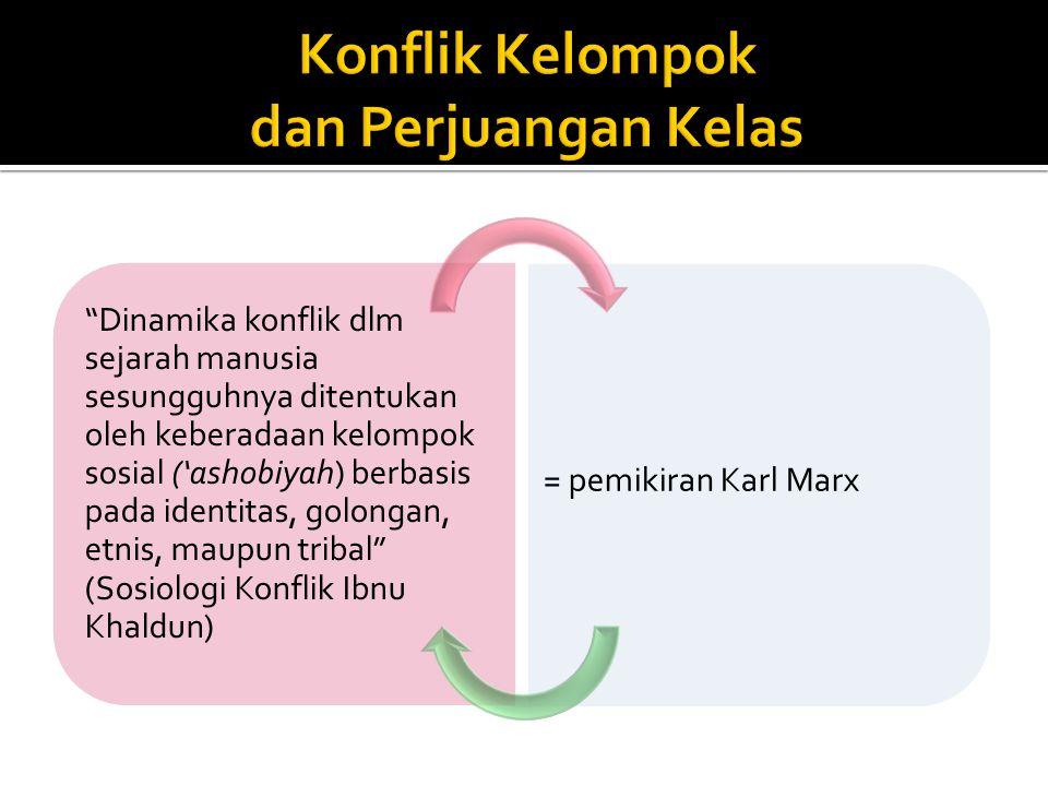 Melahirkan masyarakat kelas, dan Perjuangan Kelas Mengubah struktur masyarakat Kelas pemilik modal (borjuis)Kelas pekerja miskin (proletar) Pertumbuhan industrialisme