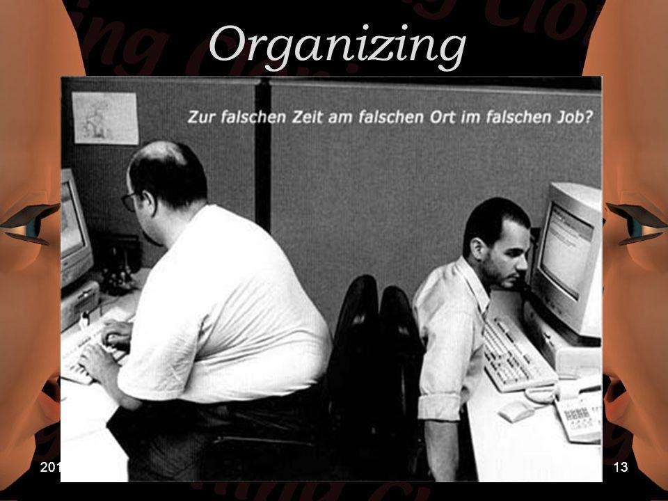2015/4/2013 Organizing