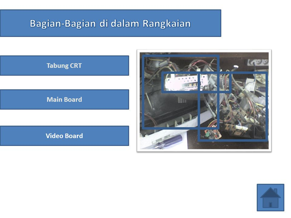Tabung CRT; Video Board; Speaker; dll.